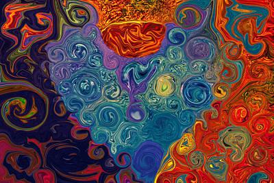 Painting - Broken Heart by Omaste Witkowski