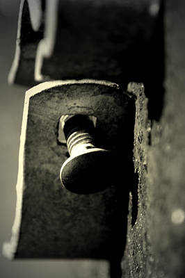 Photograph - Broken Latch by David Weeks