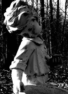 Photograph - Broken Memorial by Kristie  Bonnewell
