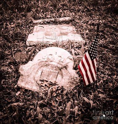 Photograph - Broken Military Remembrance by Grace Grogan