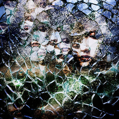 Chaos Photograph - Broken Mind by Azuto