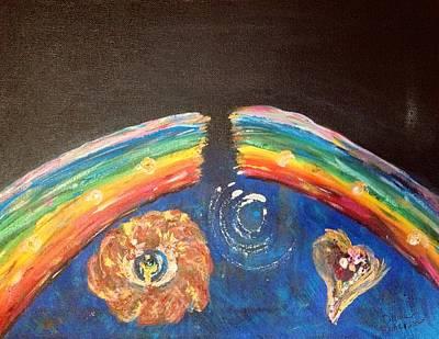 Broken Rainbow Art Print by Dawn Richerson