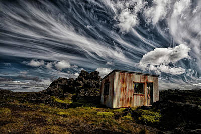 Shack Photograph - Broken Shack by ?orsteinn H. Ingibergsson