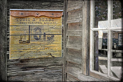 Barkerville Photograph - Broken Shingle by Ed Hall