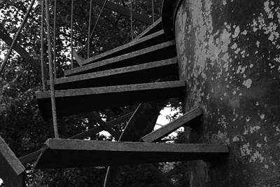 Photograph - Broken Stairs by Jennifer Ancker