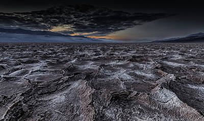 Death Valley Photograph - Broken Tales by Andreas Agazzi