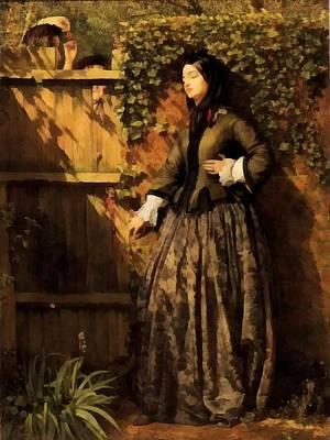 Broken Fence Painting - Broken Vows by Philip Calderon