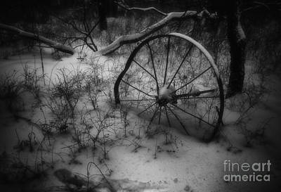 Photograph - Broken Wheel by Fred Lassmann
