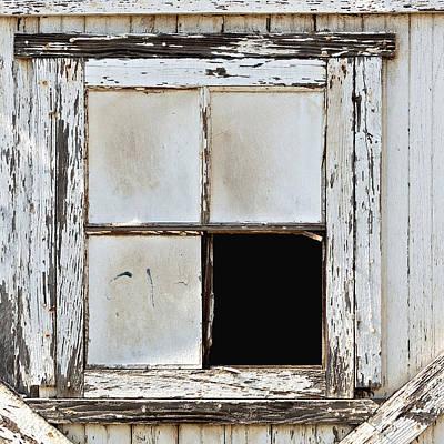 Broken Window Art Print
