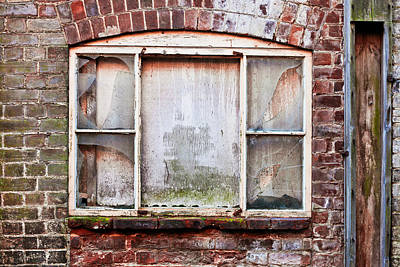 Destruction Photograph - Broken Window by Tom Gowanlock
