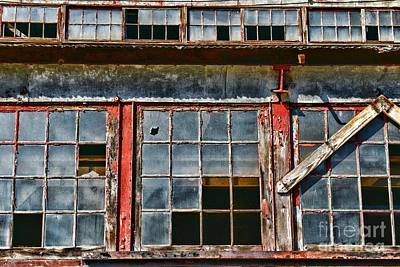 Painted Glass Photograph - Broken Windows by Paul Ward