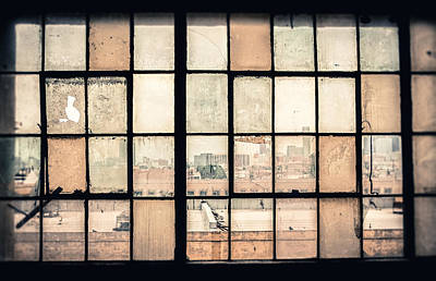 Overlay Photograph - Broken Windows by Yo Pedro