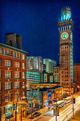 Photograph - Bromo Seltzer Tower by Chuck Robinson