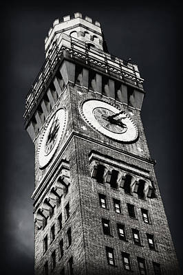 Baltimore Photograph - Bromo Seltzer Tower No 12 by Stephen Stookey