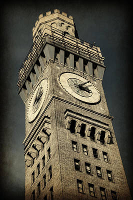 Inner Harbor Wall Art - Photograph - Bromo Seltzer Tower No 7 by Stephen Stookey