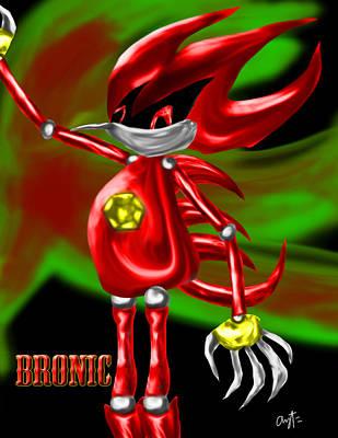 Bronic Char Poster Art Print
