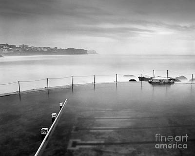 Photograph - Bronte Pool Sydney At Dawn by Colin and Linda McKie