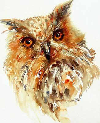 Bronzai The Owl Art Print