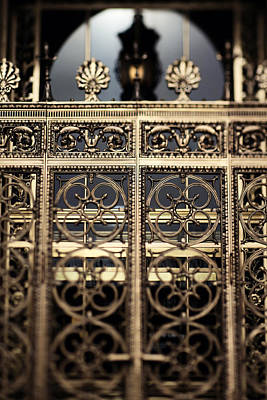 Photograph - Bronze Gate by Heather Green