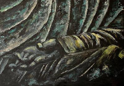 Nataliya Painting - Bronze by Gaus Nataliya