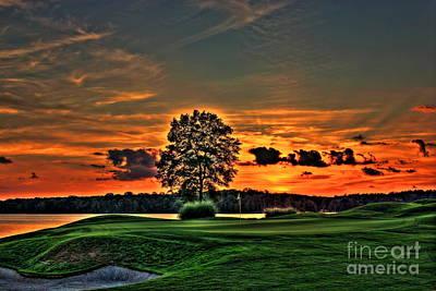 Tiger Woods Photograph - Bronze Number 4 by Reid Callaway