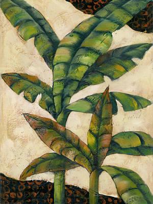 Bronze Palm 1 Art Print by Charles Gaul