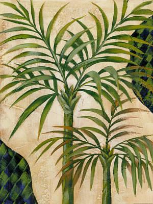 Bronze Palm 2 Art Print by Charles Gaul