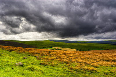 Photograph - Brooding Landscape Of Dartmoor by Mark E Tisdale