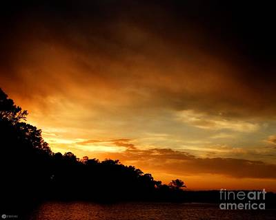 Photograph - Brooding Sunset by Lizi Beard-Ward