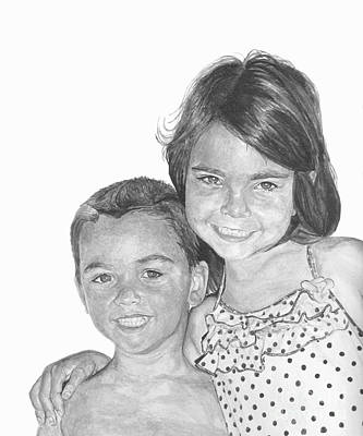Painting - Brooke And Carter by Tamir Barkan
