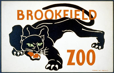 Brookfield Zoo  Art Print