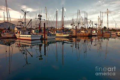 Photograph - Brookings Harbor Morning by Sandra Bronstein