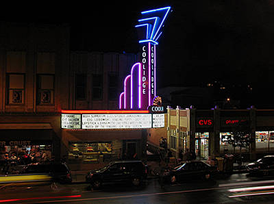 Photograph - Brookline Coolidge Corner Theater by Juergen Roth