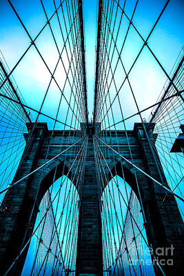 City Scenes Royalty-Free and Rights-Managed Images - Brooklyn Blues by Az Jackson