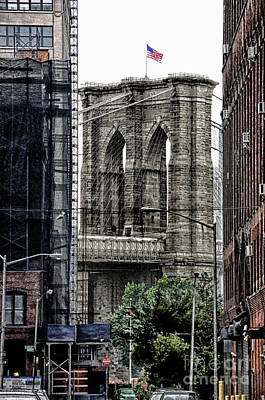 Brooklyn Bridge 7 Art Print