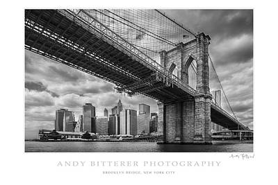 Photograph - Brooklyn Bridge by Andy Bitterer
