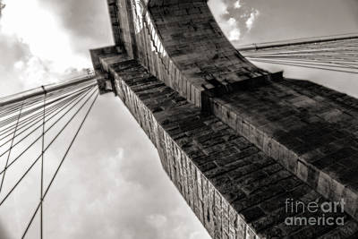 Photograph - Brooklyn Bridge by Angela DeFrias