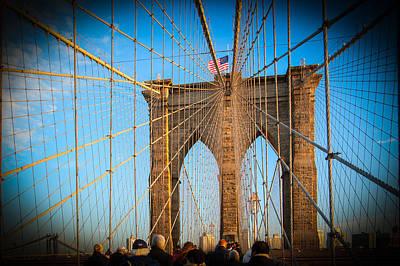Photograph - Brooklyn Bridge by Celso Diniz
