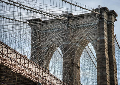 Art Print featuring the photograph Brooklyn Bridge by Chris McKenna