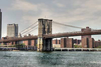 Photograph - Brooklyn Bridge by Debra Forand