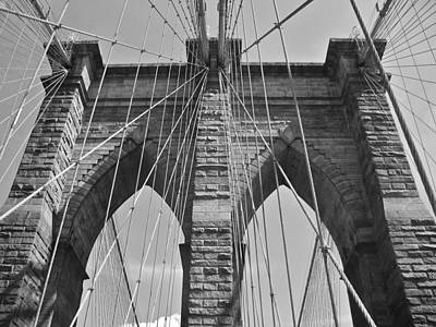 Valerie Paterson Wall Art - Photograph - Brooklyn Bridge I by Valerie Paterson