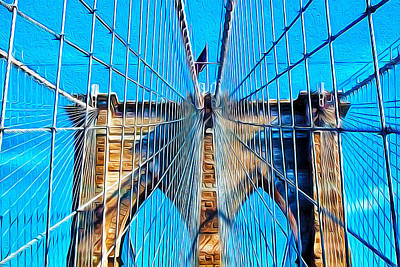 Brooklyn Bridge Art Print by Artistic Photos