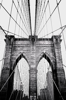 Photograph - Brooklyn Bridge by Joann Vitali