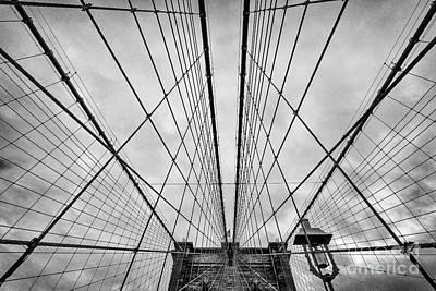 Brooklyn Bridge Art Print by John Farnan