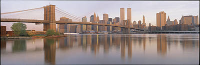 On Location Photograph - Brooklyn Bridge Manhattan New York City by Panoramic Images