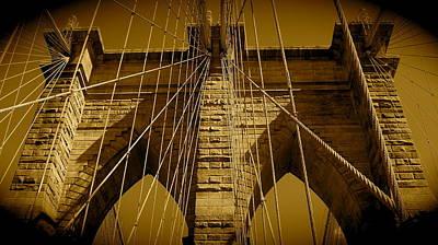 Photograph - Brooklyn Bridge by Monique's Fine Art