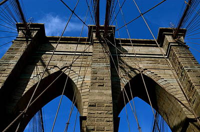 Photograph - Brooklyn Bridge Ny by Gregory Merlin Brown