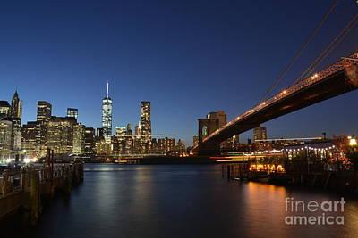 Impressionist Landscapes - Brooklyn Bridge by Oktay Atakan