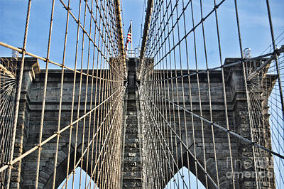 Photograph - Brooklyn Bridge by Steve Purnell