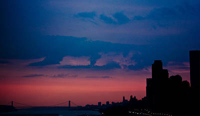 Photograph - Brooklyn Bridge Sunrise by Sara Frank